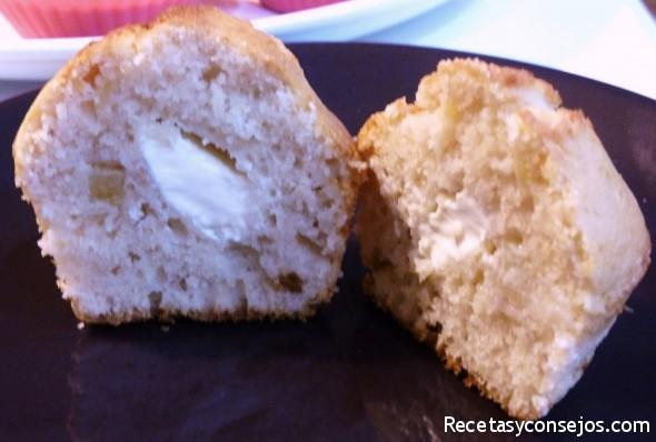 Muffin cortado