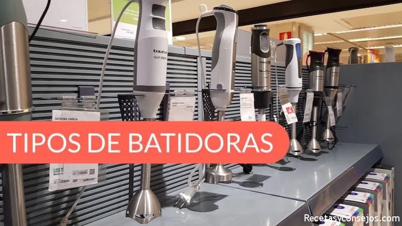 Batidoras Taurus, Moulinex y Bosch