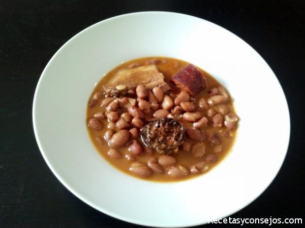 Fabada asturiana receta